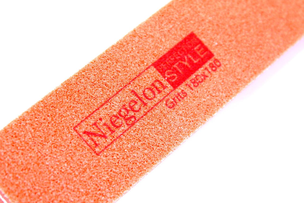 Пилки для ногтей NIEGELON (180х180грит) пилки для маникюра