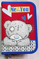 """Пенал-книжка """"Мишка Тедди - Bear Me to You"""" (модель 530740), ТМ """"1 вересня"""""""
