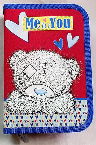 """Пенал-книжка """"Мишка Тедди - Bear Me to You"""" (модель 530740), ТМ """"1 вересня"""", фото 2"""