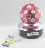 Диско Шар Music Ball K1 светодиодный - читает и воспроизводит музыку