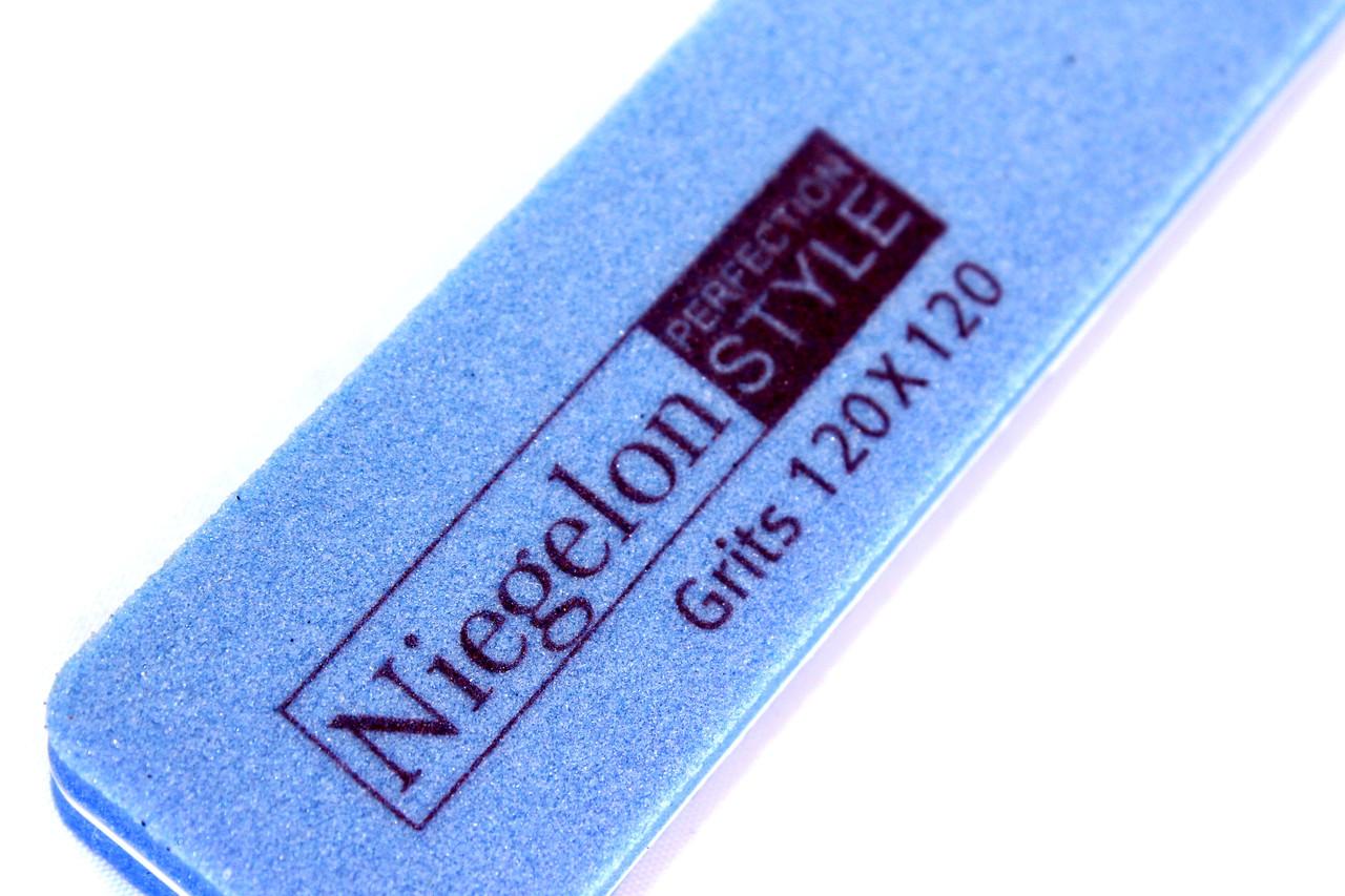 Пилки для ногтей NIEGELON (120х120грит) пилки для маникюра