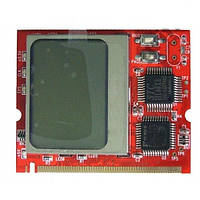 Mini PCI POST карта с текстовым оповещением анализ