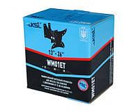 Поворотный кронштейн WM01ET для ЖК\LED\LCD телевизоров и мониторов диагональю 13–26″