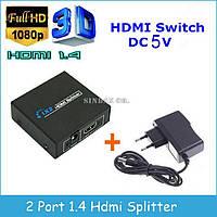 Коммутатор HDMI 1*2