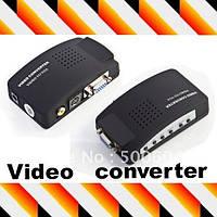 Конвертер AV S-Video TV на VGA (коробка)