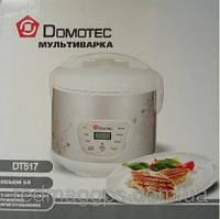 Мультиварка Domotec DT-517 на 5 л, функциональная мультиварка на 9 режимов, кастрюля мультиварка скороварка
