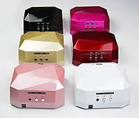 Светодиодная ультрафиолетовая лампа для ногтей гибридная LED + CCFL 36 Вт, Уф лампа для наращивания ногтей