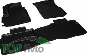 L.Locker Глубокие резиновые коврики в салон Chery Tiggo 5
