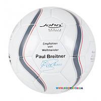 """Мяч футбольный """"Премиум"""" с автографом, 5/22 см, в ассортименте John JN52033"""
