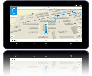 GPS навігатор SHUTTLE PNT-7042
