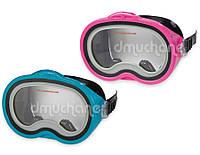 Детская маска для плавания Intex 55913 2 цвета, маска пловца от 8лет, маска для плавания детская