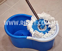 Универсальная швабра с отжимом-центрифугой и ведром - Easy Mop Spin&Go 360
