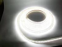Светодиодная лента 220V SMD3528 60 диодов белая