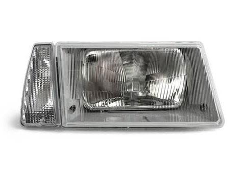 Фара ВАЗ 2108-21099 правая, серый корпус указатель белый