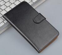 Кожаный чехол-книжка для Sony Xperia E3 D2203 D2206 черный