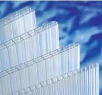 Сотовый поликарбонат Makrolon 4мм прозрачный