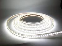 Светодиодная лента 220V SMD5050 60 диодов белая