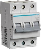 Автоматический выключатель In=6 А 3п С 6 kA 3м