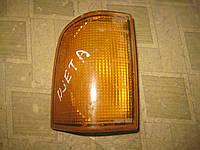 Фонарь поворотник указатель поворота правый VW Golf  Jetta  Гольф 2 Джетта