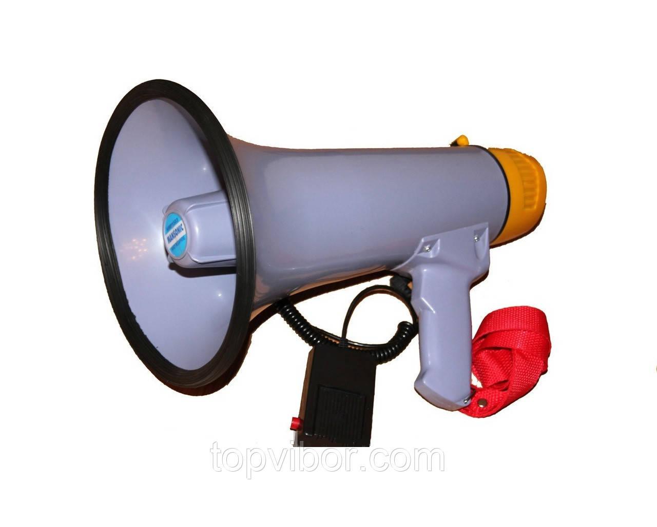 Рупор-мегафон ручной переносной MANSONIC HMP 1503, 15 Вт - ТОП-ВЫБОР! www.topvibor.com в Киеве