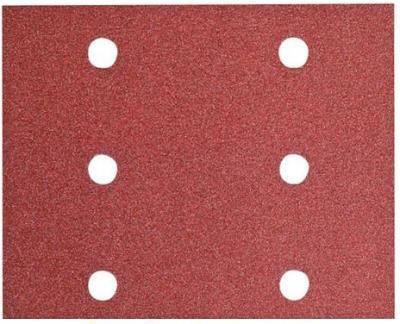 Набор шлифовальных листов Hitachi 114 х 140 мм P60 / 80 / 120 15 шт (753050), фото 2