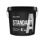 Краска Kolorit Standart А Колорит Стандарт А (Фасад Стандарт), база С, 9 л