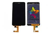 Дисплей для мобильного телефона Huawei GR3/Enjoy 5S, черный, с тачскрином, ORIG