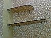 Стеклянные полки для ванных и санузлов