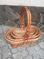 Подарочні корзинки в наборі, фото 1