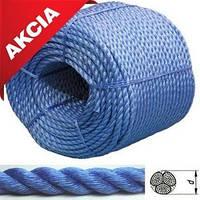 Якорная веревка, 8мм/200м, Синяя; 83308;