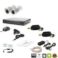 Комплект видеонаблюдения FullHD Tecsar 2OUT LUX
