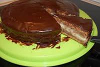 """Бисквитный торт с ликёром """"Бейлис"""" молочным шоколадом"""