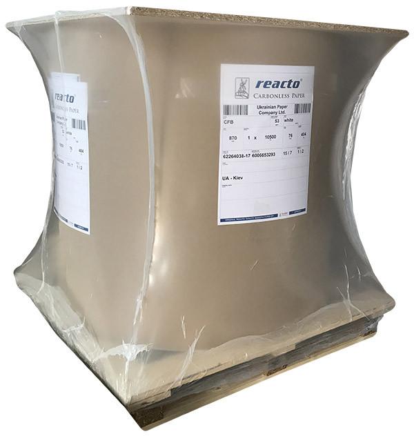 Самокопирующая бумага Reacto SELFCONTAINED SС в рулонах