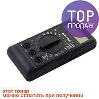 Цифровой мультиметр тестер вольтметр DT-182 / Ручной измерительный прибор