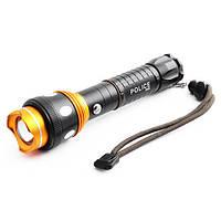 Тактический фонарик Police 8055-XPE зарядка от USB, фото 1