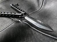 Нож бабочка Пантера, реплика Benchmade,  отличное качество, мощная сталь