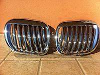 Решетка радиатора тюнинг ноздри BMW Z3 хром GRBM25