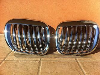 Решетка радиатора BMW Z3 тюнинг ноздри хром
