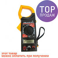 Токовые клещи DT 266 мультиметр тестер / Ручной измерительный прибор