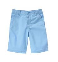 Детские твиловые шорты голубого цвета Crazy 8 для мальчика