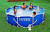 Каркасный бассейн Intex 366х76 см. отдых для всей семьи