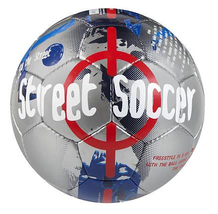 Мяч футбольный SELECT Street Soccer сер/син, фото 2