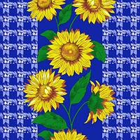 Ткань полотенечная вафельная набивная арт.123246 (ЗИН) 434 40СМ