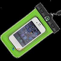 Водонепроницаемый чехол для смартфонов до 5'' c компасом Bingo