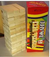 Настольная игра Дженга, Джанга, Janga, падающая Башня, фото 1