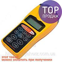 Ультразвуковой дальномер с лазерной указкой с LCD / Ручной измерительный прибор