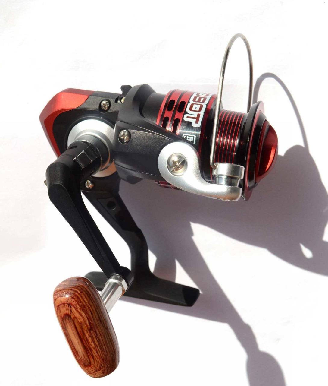 Катушка для рыбалки BratFishing, AUTOBOT 1000 FD, 5+1 подш.