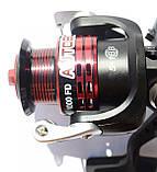 Катушка для рыбалки BratFishing, AUTOBOT 1000 FD, 5+1 подш., фото 2