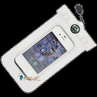 Водонепроницаемый чехол Bingo WP615 для смартфонов до 5'' c компасом