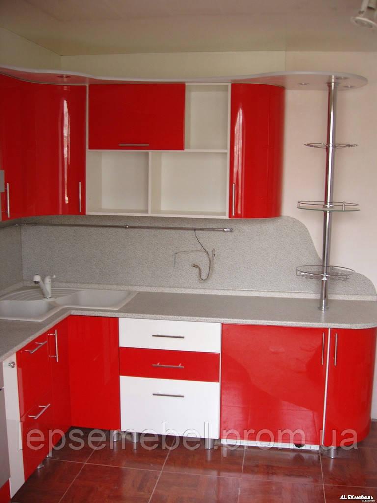 Кухня с крашенными фасадами - Лепсе мебель - мебель под заказ в Киеве и области в Киеве